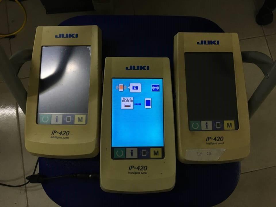 Chuyên sửa chữa màn hình máy may JUKI IP-420, JUKI IP-410 lỗi hiển thị và không nhận cảm ứng . Hotline: 0942.043.053(zalo) hoặc 0977.130.973 (zalo)
